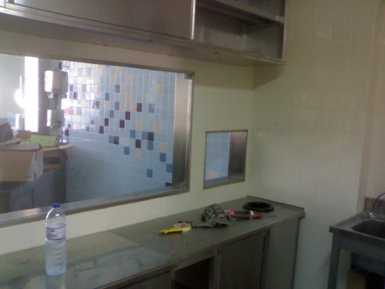 portfolio 30/65  - Trabalhos com INOX loja de peixe