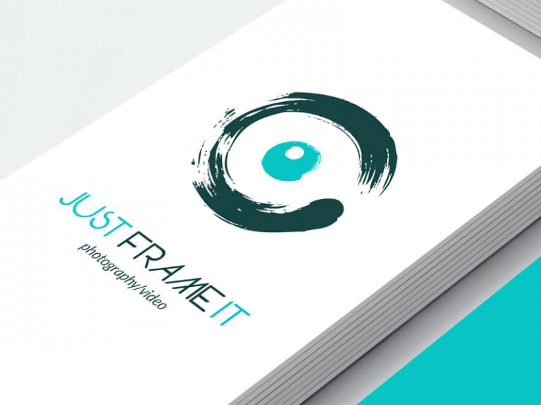 portfolio 7/10  - Logo   FrameIt - Photography/Video