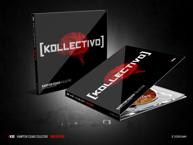 portfolio 5/10  - Design/Cover/CD - Kampton Squad Collective