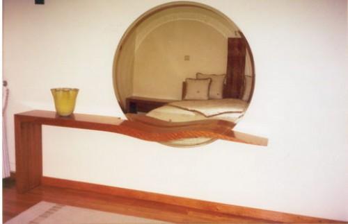 portfolio 2/8  - Sanca com espelho quarto de casal