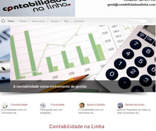 portfolio 5/5  - Criação de sites profissionais e institucionais