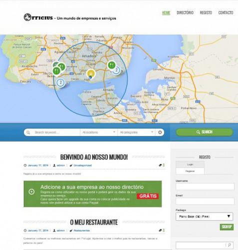 portfolio 2/5  - Directório de localização de empresas