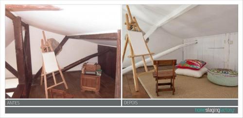 portfolio 14/37  - Restyle Apartamento turístico  - Antes & Depois