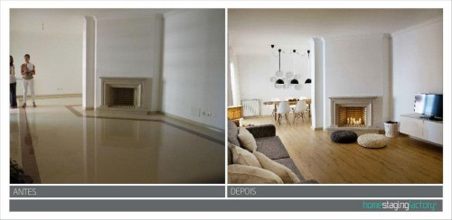 portfolio 17/37  - Decoração Total Apartamento turístico  - Antes & Depois