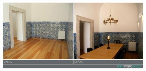 portfolio 18/37  - Decoração Total Apartamento turístico  - Antes & Depois