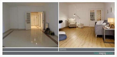 portfolio 19/37  - Decoração Total Apartamento turístico  - Antes & Depois