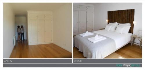 portfolio 20/37  - Decoração Total Apartamento turístico  - Antes & Depois