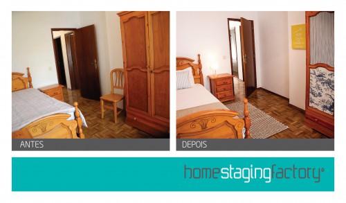 portfolio 4/37  - Restyle Quarto Casa de Férias  - Antes & Depois