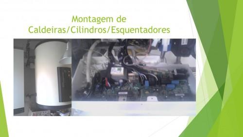 portfolio 11/11  - Montagem Caldeiras/Cilindros/Esquentadores