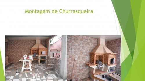 portfolio 9/11  - Montagem de Churrasqueira