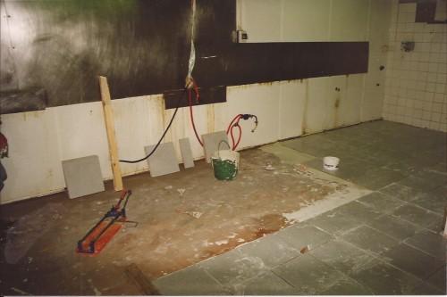 portfolio 11/15  - Cozinha, Durante as Obras