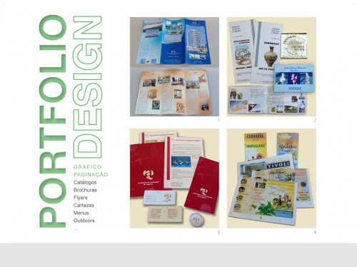 portfolio 8/9  - Design gráfico | Paginação