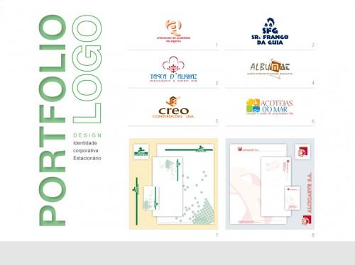 portfolio 7/9  - Logótipo | Identidade corporativa