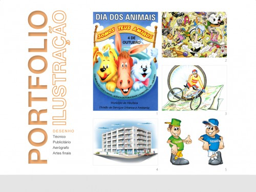 portfolio 4/9  - Desenho | Ilustração