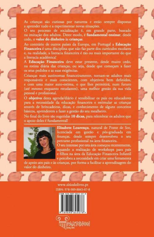 portfolio 1/2  - Contra-capa do livro