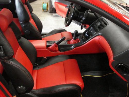 portfolio 1/10  - Nissan ZX300 - Tablier e consola - Estofadas