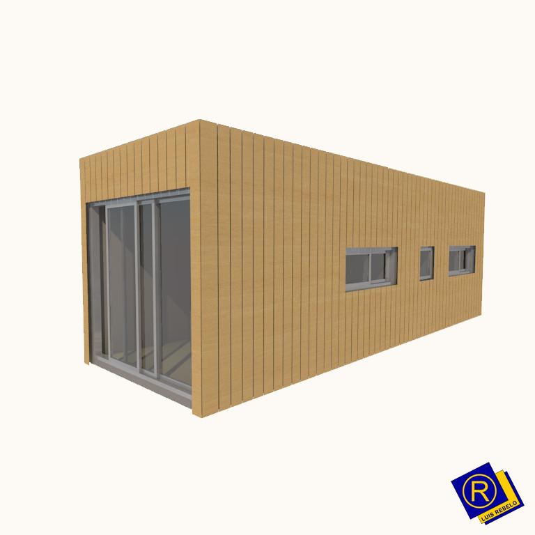 portfolio 4/14  - Casas Modulares em Madeira