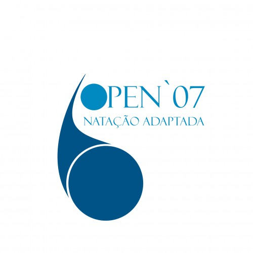 portfolio 5/6  - Logotipo do Evento de Natação Adaptada 2007