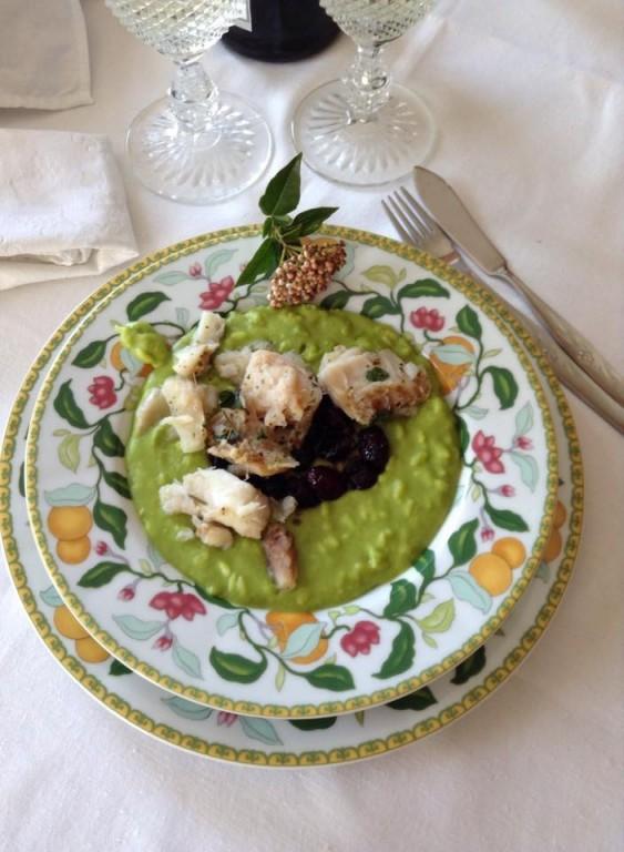 portfolio 34/65  - TOP BY: Risotto de ervilhas com bacalhau em redução de arintos e vinho do Porto