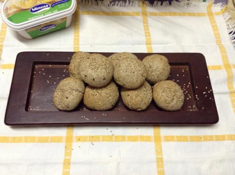 portfolio 32/65  - Mini Pães de trigo integral