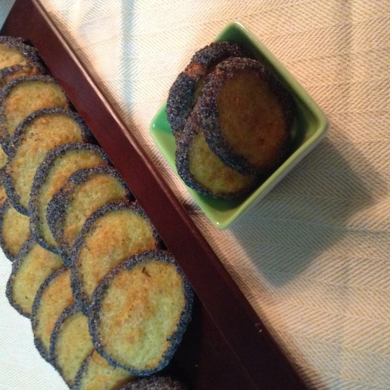 portfolio 13/65  - Bolachas salgadas de queijo com sementes de papoila