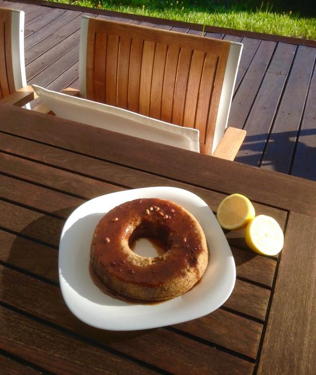 portfolio 4/65  - Bolo de tâmara, limão e amendoim ao vapor