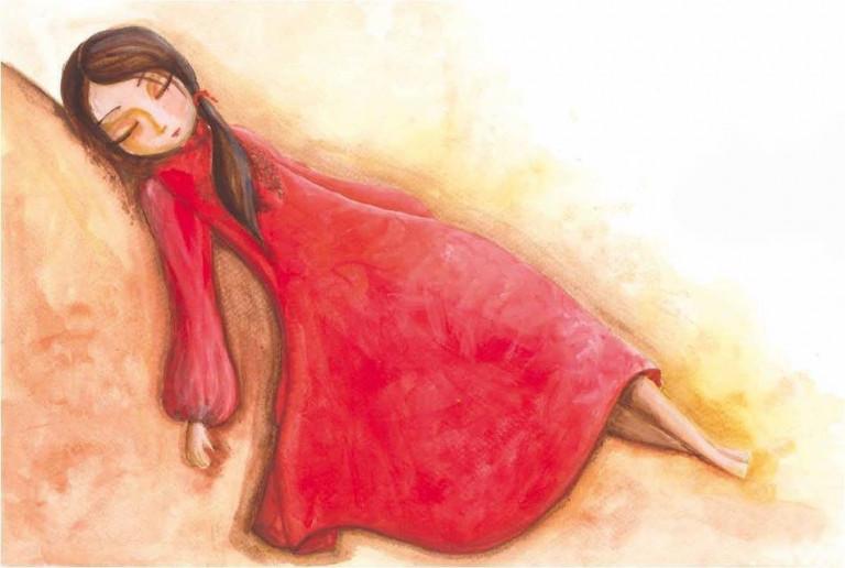 """portfolio 4/4  - Ilustração do livro """"A Princesa Aurora"""""""