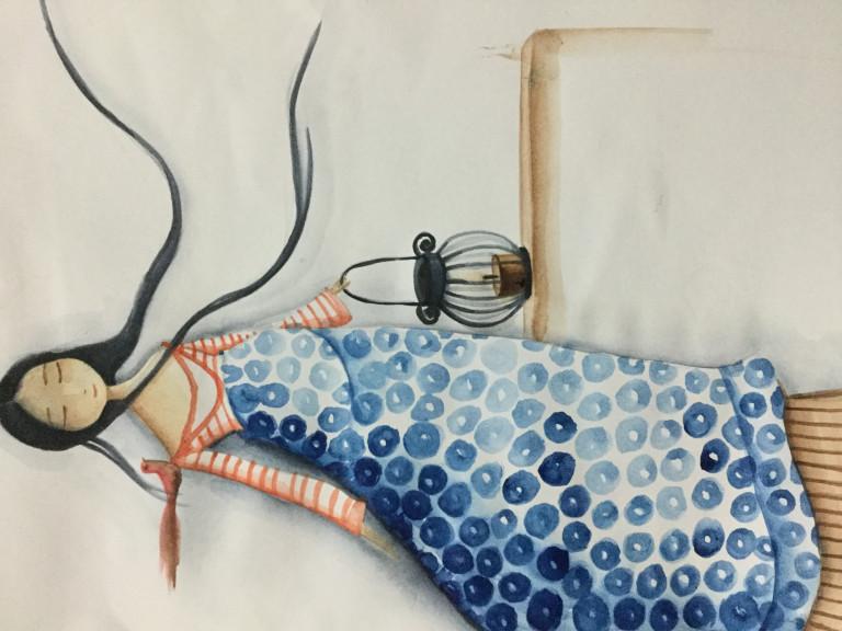 portfolio 1/4  - Aguarela