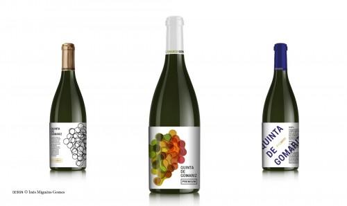 portfolio 8/8  - Quinta de Gomariz - rórulo de vinho (concurso)