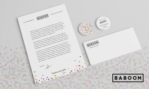 portfolio 7/8  - BABOOM - Conceito - Namming - Copy - Marca (Logótipo) - Estacionário - Comunicação