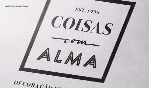 portfolio 4/8  - COISAS COM ALMA - Marca - Merchandising - Site - Fachada
