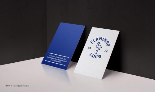 portfolio 2/8  - FLAMINGO LAMPS - Marca (Logótipo)