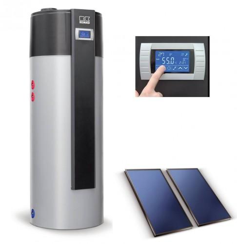 portfolio 14/163  - Bomba de calor com painel solar