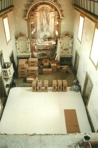 portfolio 133/163  - Piso radiante hidráulico- Mosteiro de Vilela