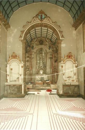portfolio 132/163  - Piso radiante hidráulico- Mosteiro de Vilela