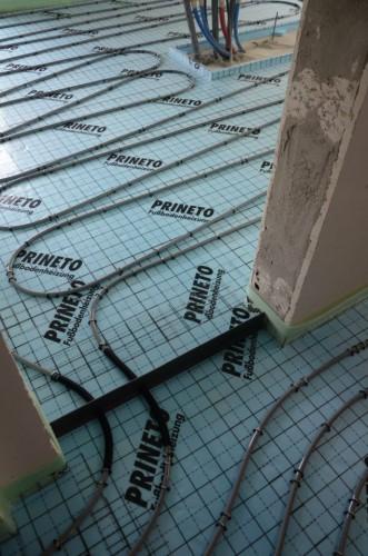 portfolio 118/163  - Piso radiante hidráulico