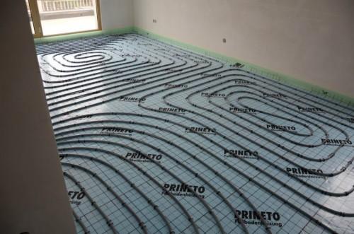 portfolio 106/163  - Piso radiante hidráulico