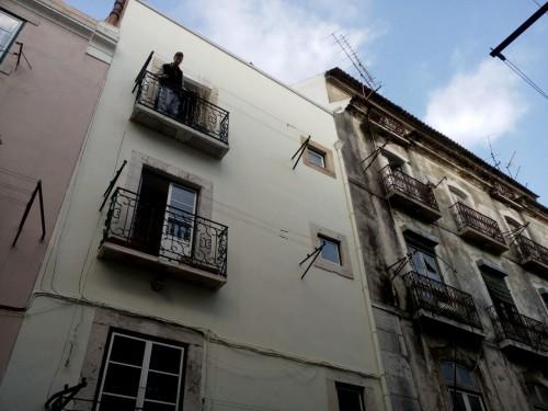 portfolio 37/51  - Requalificação, pintura de prédio em zona histórica