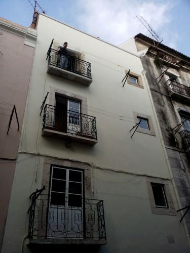 portfolio 35/51  - Recuperação de ferragens de alçado de edifício  em zona histórica