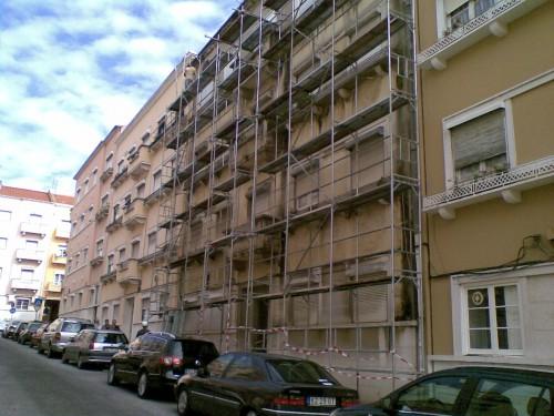 portfolio 30/49  - Aluguer de Estrutura Andaime