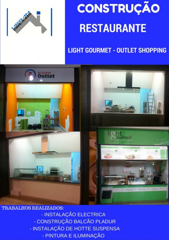 portfolio 7/24  - CONSTRUÇÃO RESTAURANTE - LIGHT GOURMET