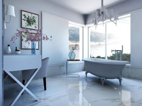 portfolio 40/49  - Projecto 3D de Salão de banho