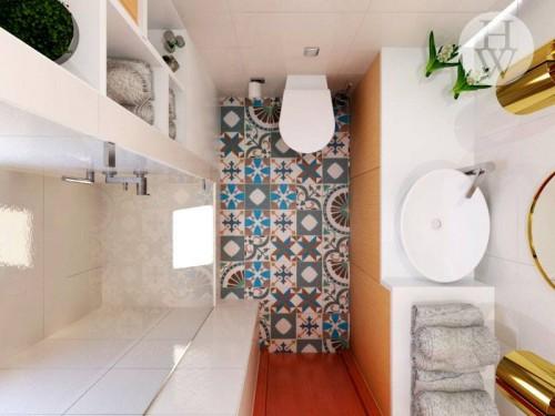 portfolio 39/49  - Remodelação de Casa de banho comum