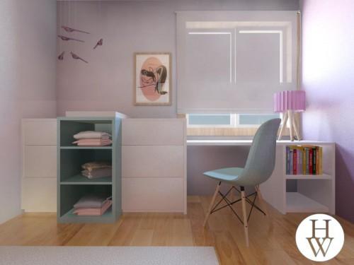 portfolio 9/49  - Projecto de decoração de quarto de criança