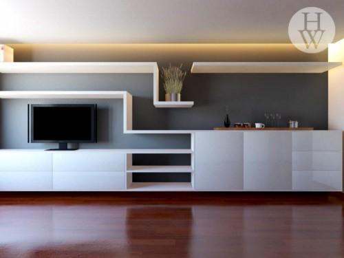 portfolio 46/49  - Construção de móvel para sala de estar e jantar