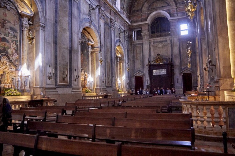 portfolio 73/74  - Baptizado Basílica da Estrela