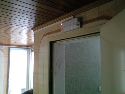 portfolio 7/8  - Instalação de Iluminação Emergência