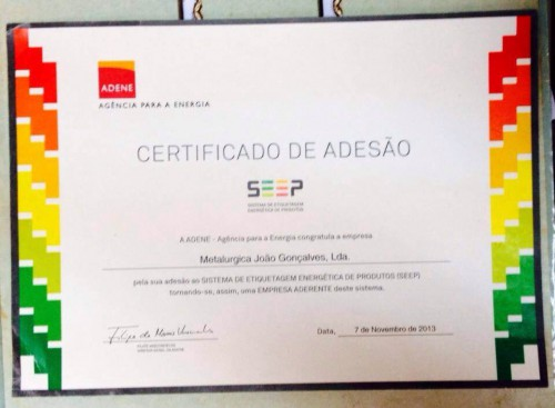 portfolio 21/23  - Certificado de Adesão ao SEEP.