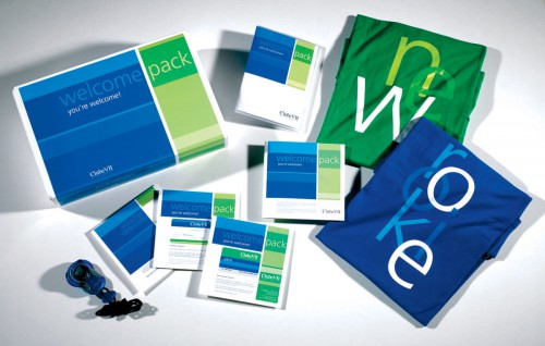 portfolio 9/13  - Welcome Pack Clube VII