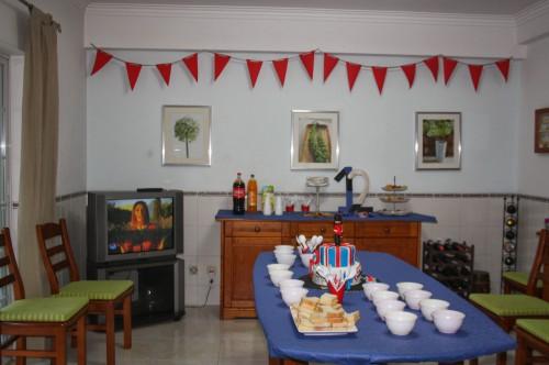 portfolio 3/11  - Festa de aniversário do D. - decoração vista geral